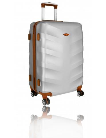 Duża walizka podróżna TOKYO COLLECTION SREBRNA
