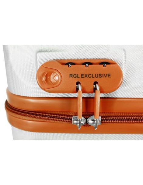 Mała walizka M podróżna TOKYO COLLECTION zamek szyfrowy walizki dużej