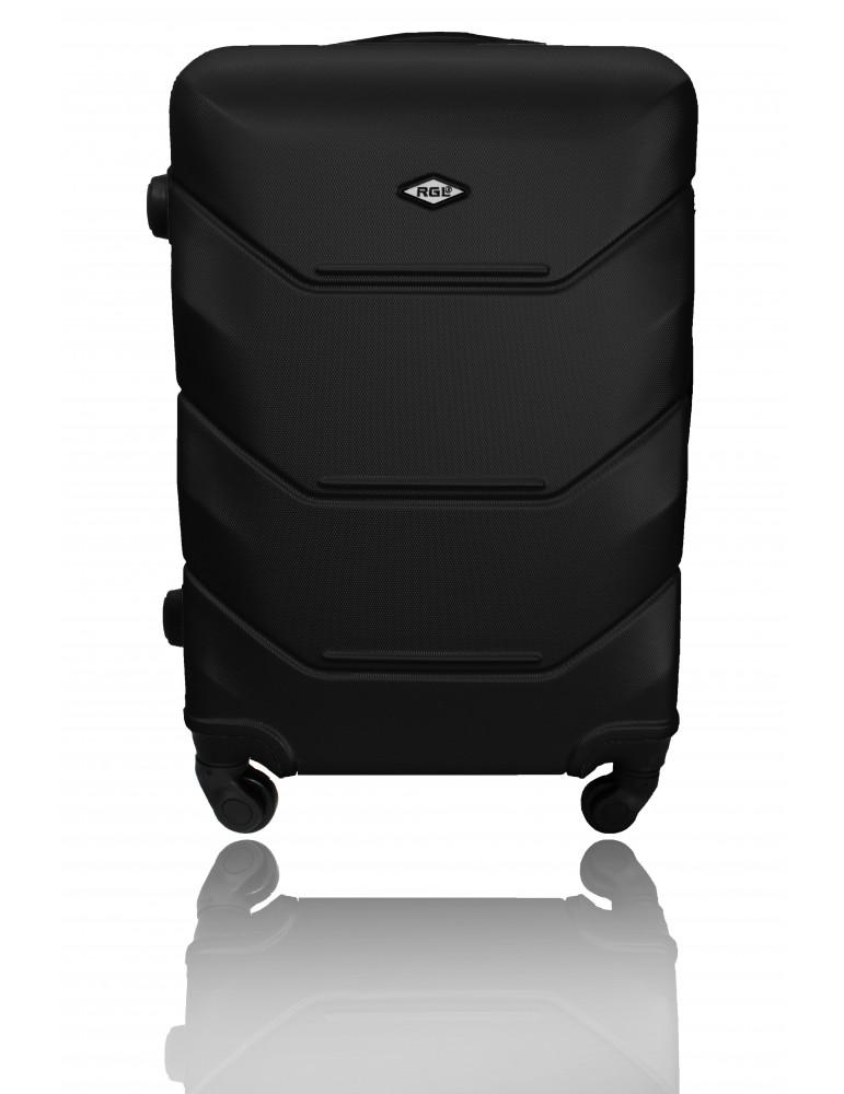 Średnia walizka podróżna RIO COLLECTION XL CZARNA