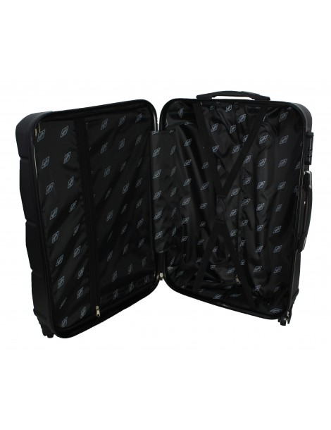 Duża walizka podróżna RIO COLLECTION XXL WNĘTRZE WALIZKI