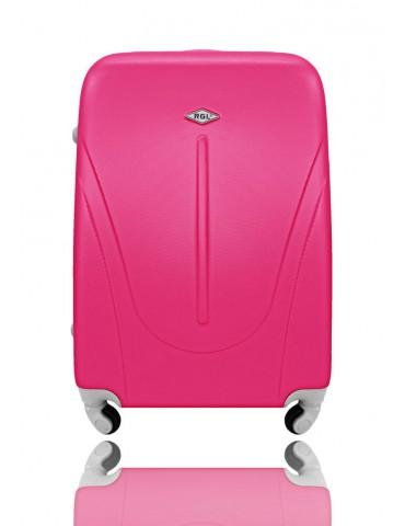 Mała M walizka podróżna NEW YORK COLLECTION różowy