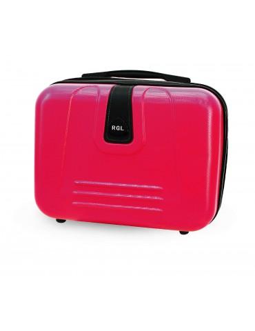 Mały kuferek podróżny BUENOS COLLECTION różowy
