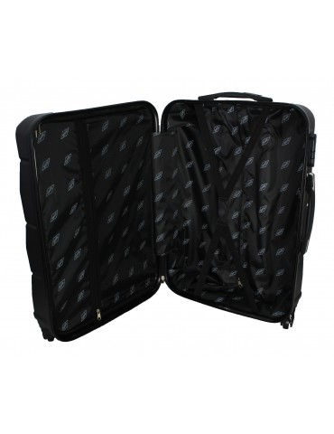 Średnia walizka podróżna RIO COLLECTION XL WNĘTRZE WALIZKI