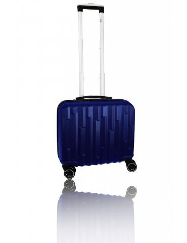 Biznesowa granatowa walizka