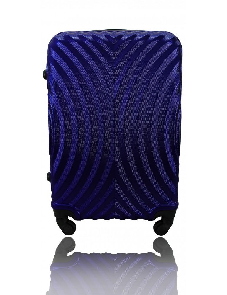 Średnia walizka podróżna SYDNEY COLLECTION GRANATOWY
