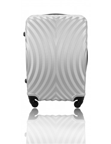 Mała walizka podróżna SYDNEY COLLECTION SREBRNY