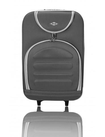 Mała walizka podróżna MADRID COLLECTION SZARY