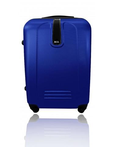 Średnia walizka podróżna BUENOS COLLECTION GRANATOWY