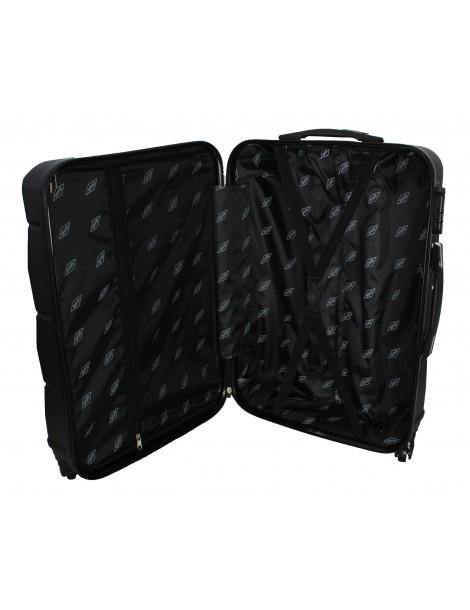 Mała walizka podróżna BANGKOK COLLECTION wnętrze walizki