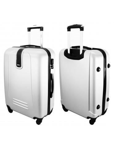 Mała walizka podróżna BUENOS COLLECTION przód i tył walizki