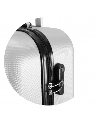 Mała walizka podróżna BUENOS COLLECTION zamek szyfrowy
