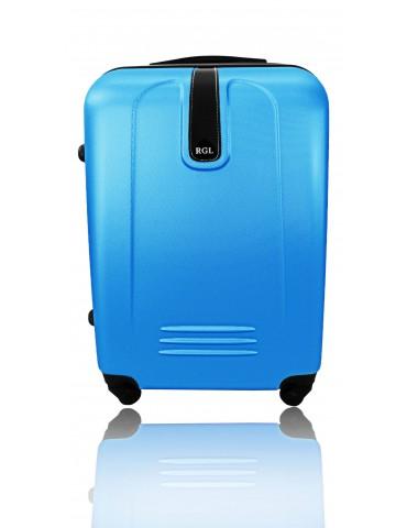 Mała M walizka podróżna BUENOS COLLECTION NIEBIESKI