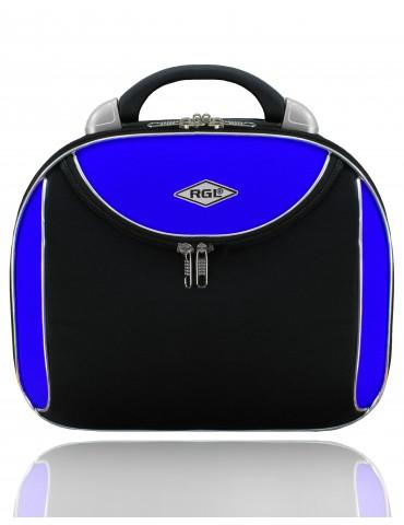 Kuferek duży PARIS COLLECTION czarno-niebieski