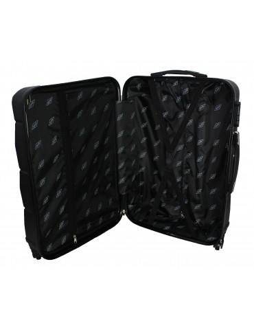 Duża walizka podróżna BANGKOK COLLECTION wnętrze walizki