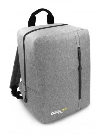 Plecak podróżny X38B 40x20x25 RYANAIR SZARO-CZARNY