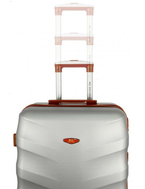 Średnia walizka podróżna TOKYO COLLECTION  wysuwany stelaż walizki dużej