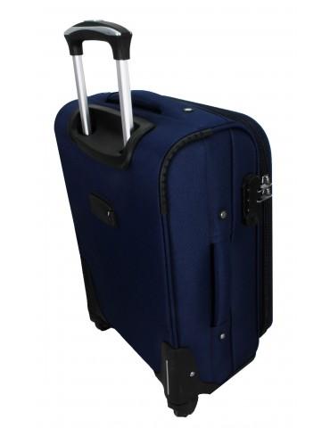 ŚREDNIA WALIZKA PODRÓŻNA LONDON COLLECTION tył walizki